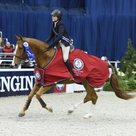 Horse Times Egypt: Equestrian Magazine :News :It's All Colvin In The Washington International Equitation Classic Final