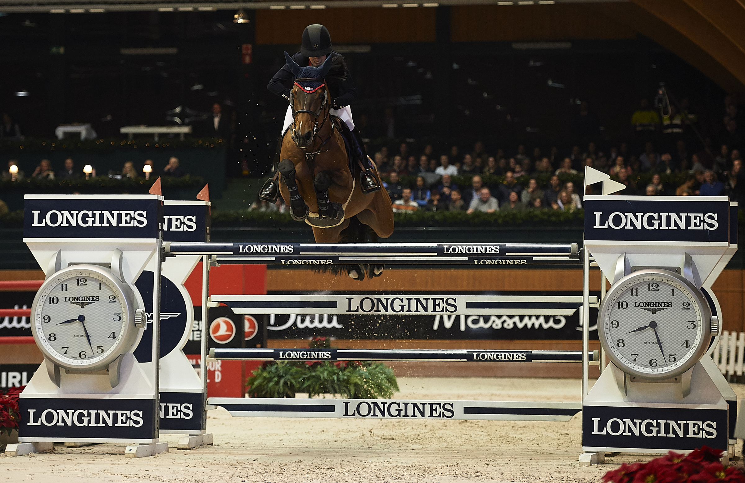 Horse Times Egypt: Equestrian Magazine :News :YOUNG DUTCH LISA NOOREN, BRILLIANT WINNER OF THE LONGINES GRAND PRIX