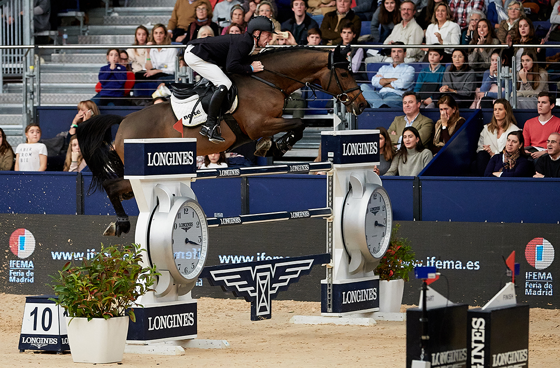 Horse Times Egypt: Equestrian Magazine :News :MARCUS EHNING UNBEATABLE IN THE LONGINES FEI WORLD CUP JUMPING PRESENTED BY MUTUA MADRILEÑA