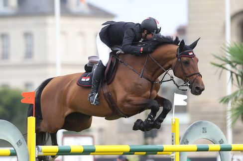 Horse Times Egypt: Equestrian Magazine :News :YOUNG SYRIAN RIDER AHMAD SABER HAMCHO IN FIRST GCT WIN