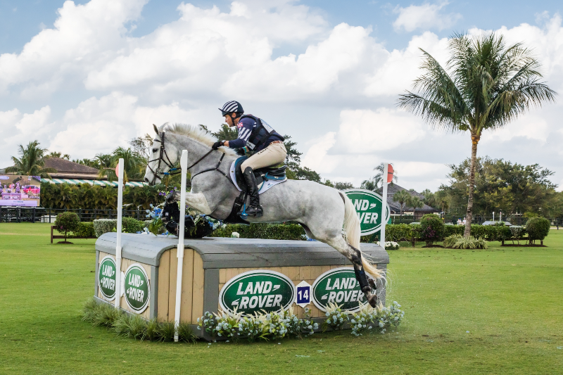 Horse Times Egypt: Equestrian Magazine :News :U.S. EVENT RIDER, BOYD MARTIN, CREATES HISTORY WITH THIRD CONSECUTIVE WIN AT THE LAND ROVER WELLINGTON EVENTING SHOWCASE