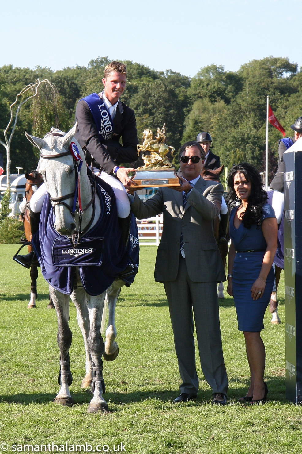 Horse Times Egypt: Equestrian Magazine :News :HOLLAND'S HENRICK-JAN SCHUTTERT WINS THE LONGINES KING GEORGE V GOLD CUP