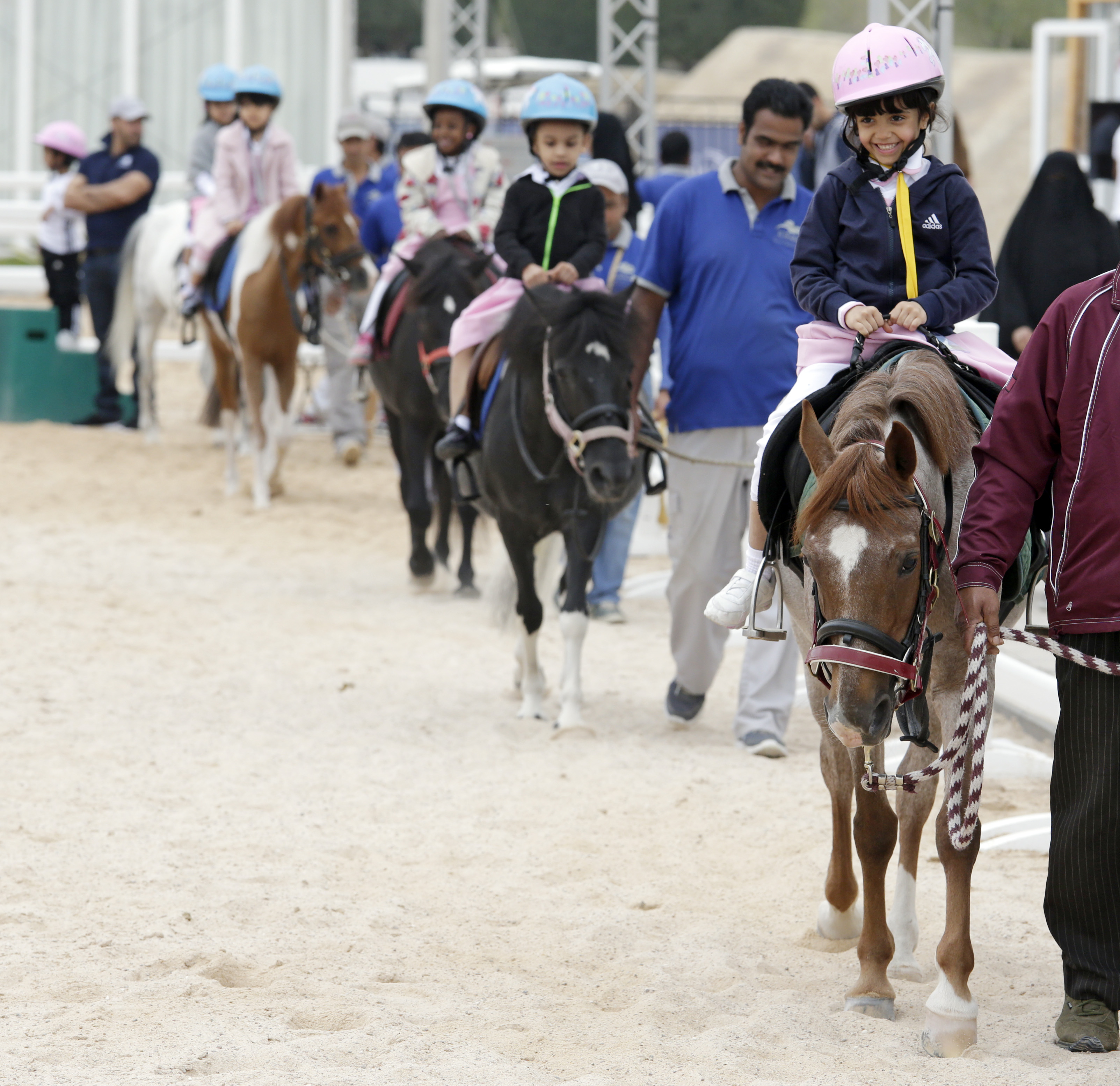 Horse Times Egypt: Equestrian Magazine :News :HORSEBACK RIDING PROVES THERAPEUTIC FOR CHILDREN WITH AUTISM