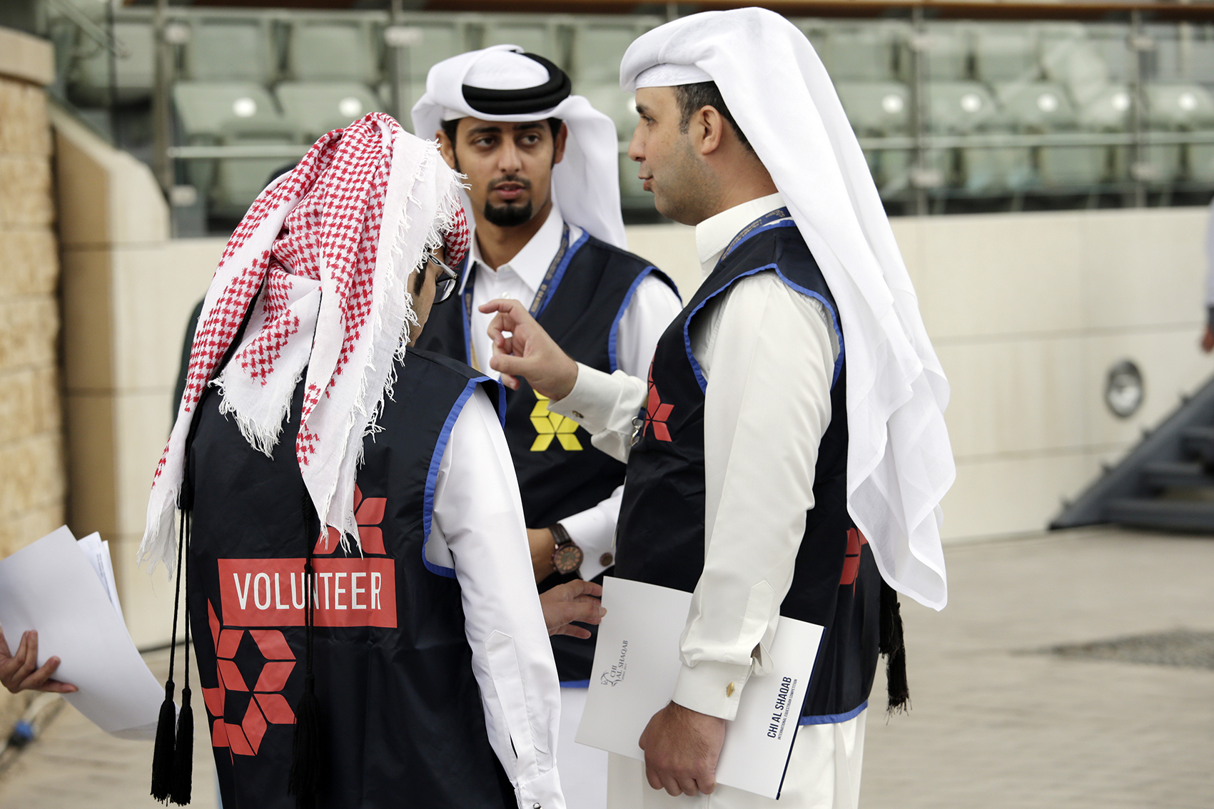 Horse Times Egypt: Equestrian Magazine :News :VOLUNTEERING FOR VICTORY AT CHI AL SHAQAB 2017