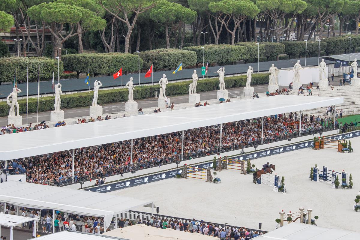 Horse Times Egypt: Equestrian Magazine :News : All Eyes on LGCT Rome With Championship On A Knife Edge