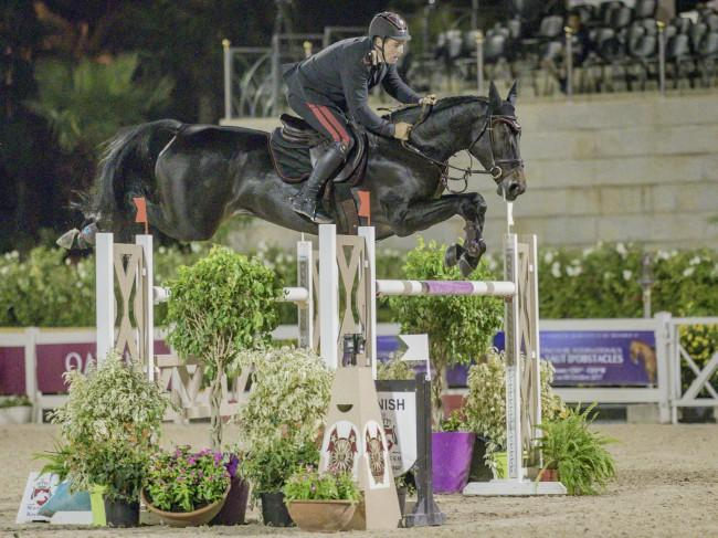 Horse Times Egypt: Equestrian Magazine :News :Morocco Royal Tour: Italy Emanuele Gaudiano before two ex-n°1