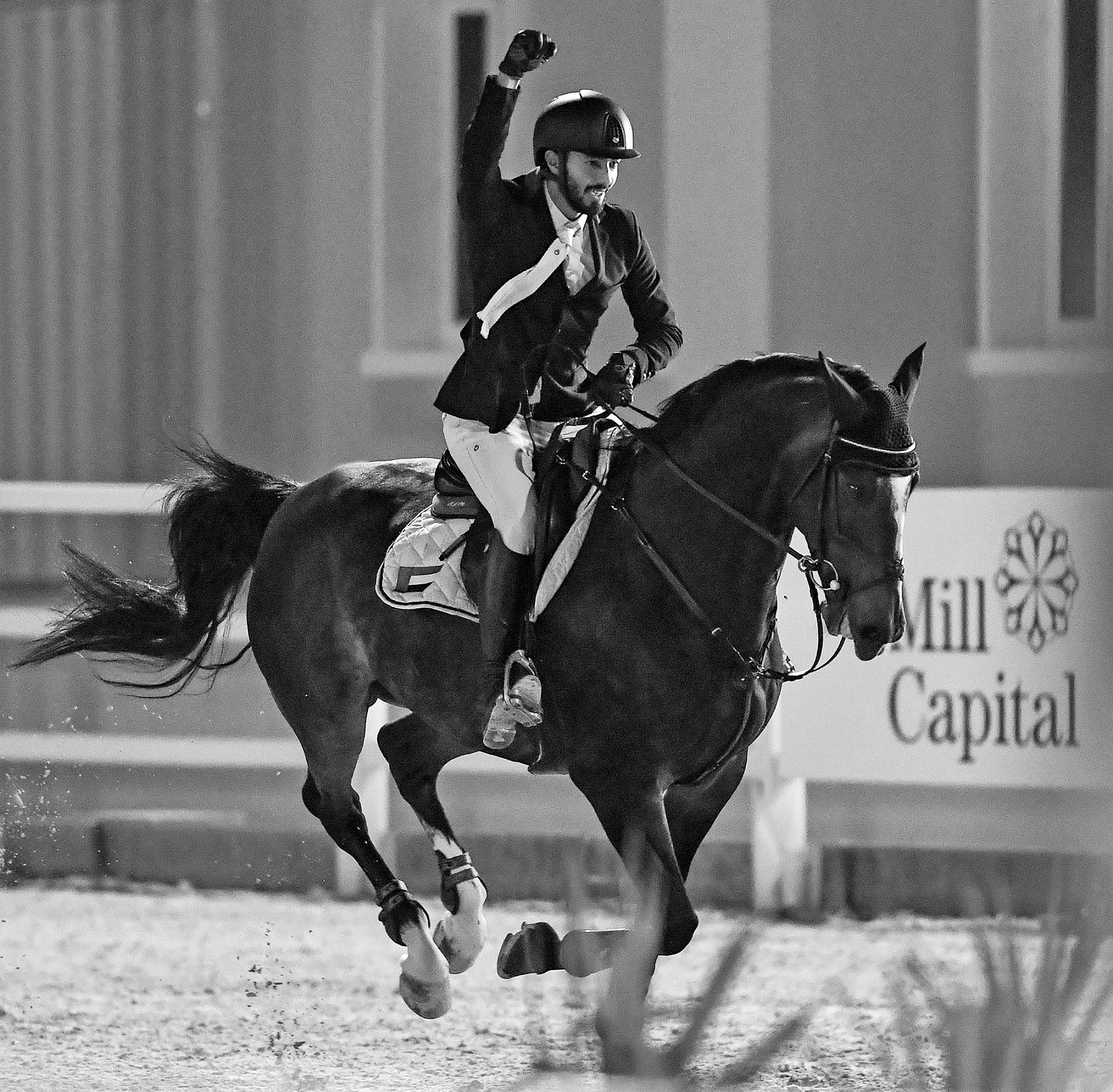 Horse Times Egypt: Equestrian Magazine :News :Riders from Sharjah Equestrian & Racing Club win the titles for both Medium and Big Tour classes at the third round of The Gulf Elite Tour