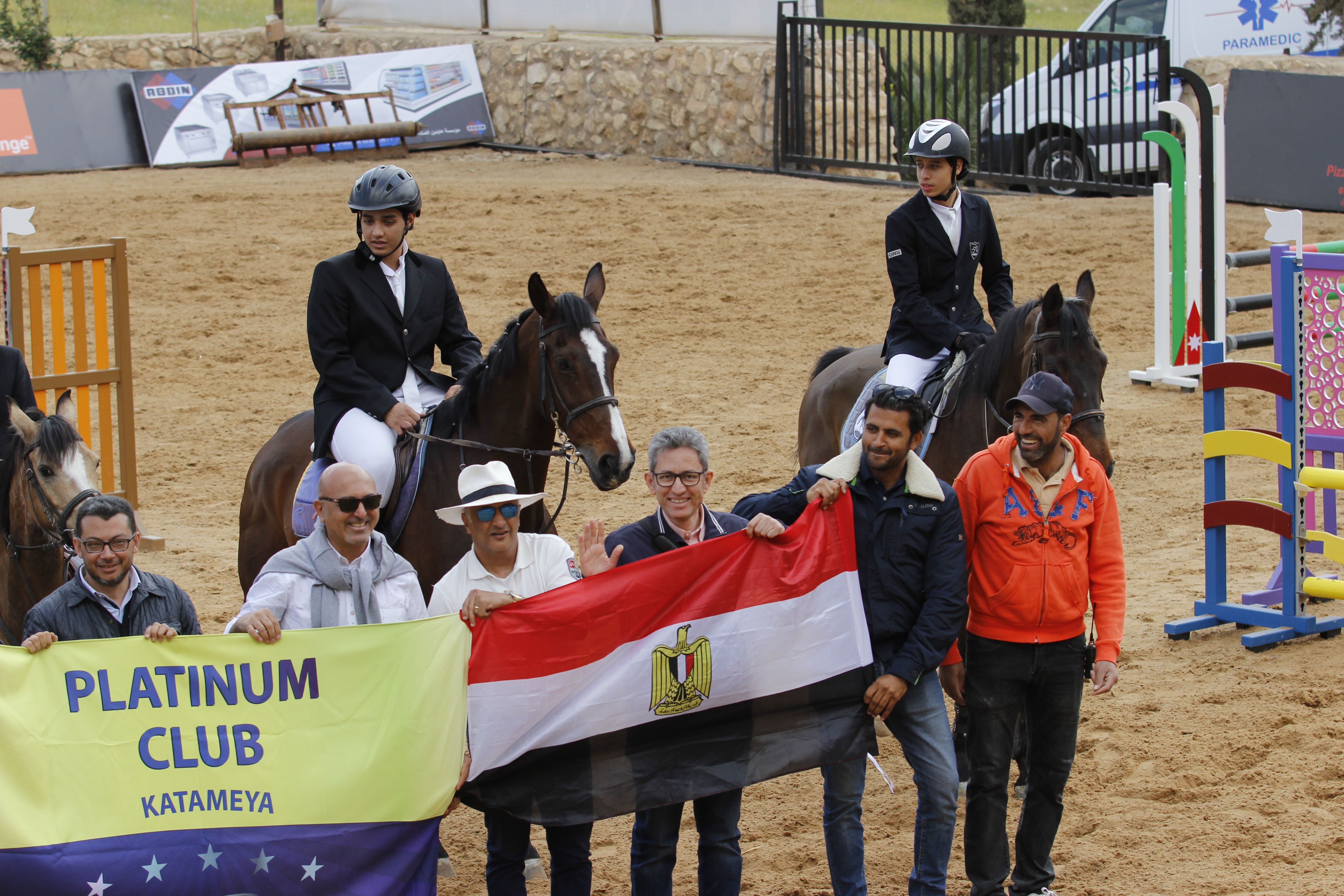 Horse Times Egypt: Equestrian Magazine :News :AMMAN FRIENDLY INTERNATIONAL CLUB S COMPETITIONS 2018  ZIAD TAREK HEMIDA OF PLATINUM CLUB EGYPT CLINCHES THE GOLD