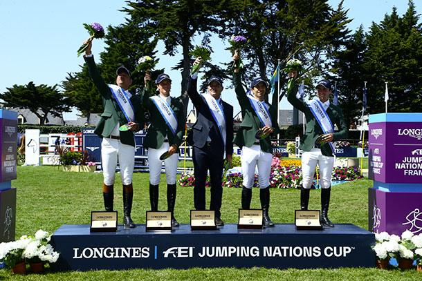 Horse Times Egypt: Equestrian Magazine :News :Nations Cup of La Baule: Historical victory for Brazil