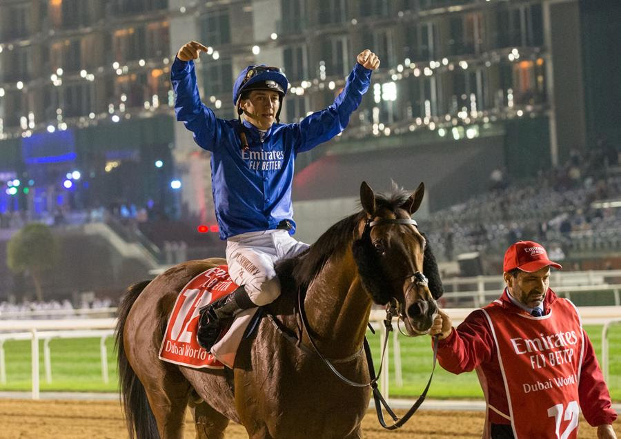Horse Times Egypt: Equestrian Magazine :News :THUNDER SNOW WINS AN INCREDIBLE CONSECUTIVE  US$12 DUBAI WORLD CUP
