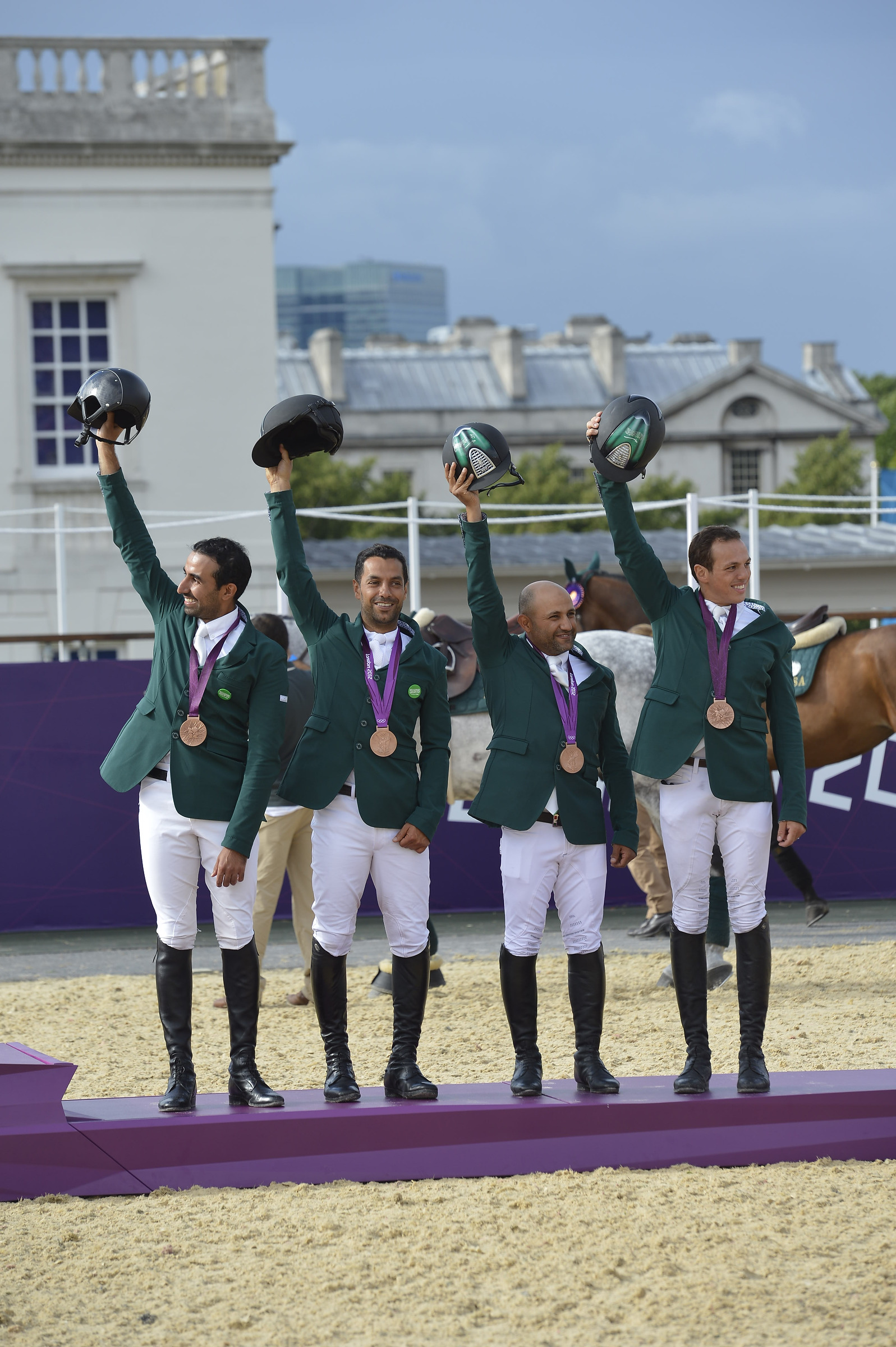 Horse Times Egypt: Equestrian Magazine :News :SAUDI ARABIA SECURES HISTORIC FIRST TEAM MEDAL - LONDON 2012 OLYMPIC SHOW JUMPING